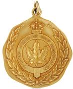 Medal - Walter Hagan Canadian Open  Golf – avers