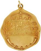 Medal - Walter Hagan Canadian Open  Golf – revers
