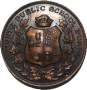 School Medal - 4 years Good Conduct (Toronto, ON) – avers