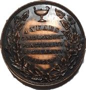 School Medal - 4 years Good Conduct (Toronto, ON) – revers