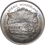 Médaille - Canada's Centennial (Niagara Falls, Ontario) – revers