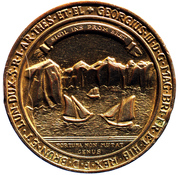 Great Seal of the Island of Cape Breton – avers