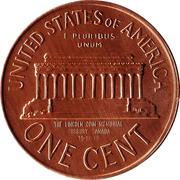 """Sudbury """"Numismatic Park"""" Promotional Medallion - United States, 1 cent, 1965 – revers"""