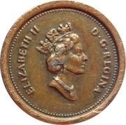 1 Cent - Elizabeth II – avers