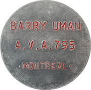 Token - Barry Uman – avers