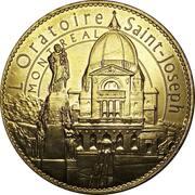 Jeton touristique - Montréal (L'Oratoire Saint-Joseph) – revers