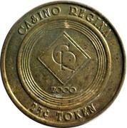 Casino Regina 25 cent token – avers