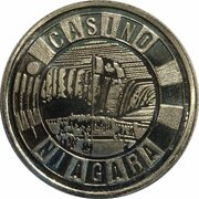Commemorateve Coin - Casino Niagara – revers