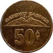 50 Cents - Gateway Casinos (Burnaby, British Columbia) – revers