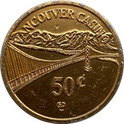 50 Cents - Vancouver Casino (Vancouver, British Columbia) – avers