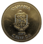Token - City of Oshawa (1903 Oldsmobile) – avers
