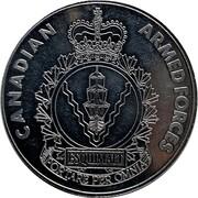 Medal - Canadian Armed Forces Esquimalt (Maritime Forces Pacific) – revers