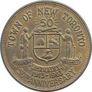 Medal - New Toronto Hydro Golden Jubilee (Ontario) – avers