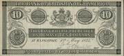 10 Dollars (Bank of British North America) – avers