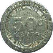50 Cents - Casino Rama (Rama, Ontario) – revers