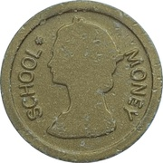 1 Dollar (School Money) – avers