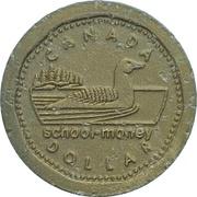 1 Dollar (School Money) – revers