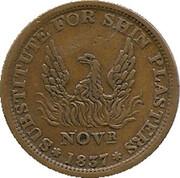 "1837 Hard Times Token ""May Tenth"" (Phoenix Variety) – avers"
