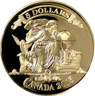 Billet 5 dollars canadien