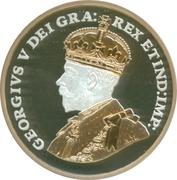 1 cent Georges V (Adieu à la pièce de 1 cent, type 1920-1936) – avers