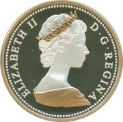 1 cent Elizabeth II (Type du centenaire 1967) – avers
