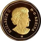 1 dollar Terre de nos aïeux (argent) – avers