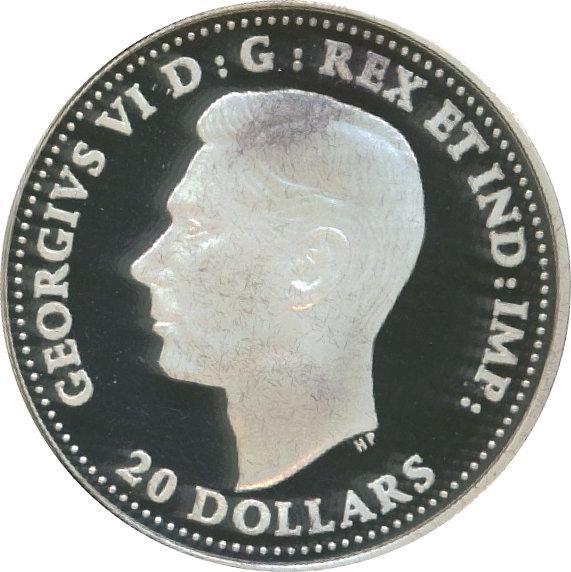 20 Dollars Avro Anson Colorée Canada Numista