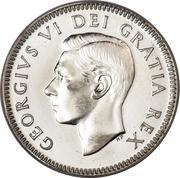10 cents Georges VI (légende sans IND:IMP:) -  avers