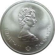 10 dollars Olympiades de Montréal (Zeus) -  avers