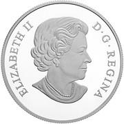 20 dollars La chrysomèle de l'apocyn -  avers