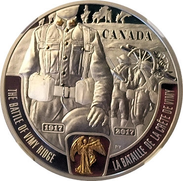 20 Dollars La Bataille De La Crête De Vimy Canada Numista