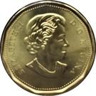 1 dollar Ô Canada 150 ans – avers