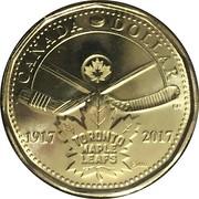 1 dollar Maple Leafs de Toronto -  revers