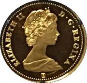 1 cent  150 ans du Canada – avers