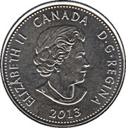25 cents Laura Secord -  avers