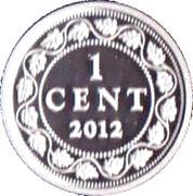 1 cent Édouard VII (Adieu à la pièce de 1 cent) – revers