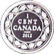 1 cent Georges V (Adieu à la pièce de 1 cent) – revers