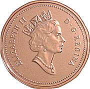 1 cent La confédération (125 ans) – avers