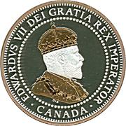 1 cent Édouard VII (Adieu à la pièce de 1 cent) – avers