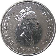 25 cents Mars 1999 -  avers