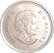 25 cents Centenaire de l'Alberta -  avers