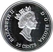 25 cents Janvier 1999 (argent) -  avers