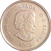 25 cents Tecumseh -  avers