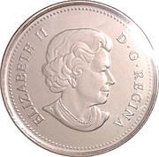 25 cents Faucon pèlerin -  avers