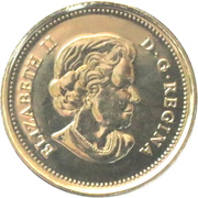 25 cents La vie nordique -  avers