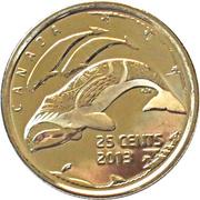 25 cents La vie nordique -  revers