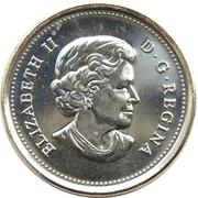 25 cents Expédition arctique canadienne -  avers