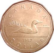 1 dollar Elizabeth II (2ème effigie) -  revers