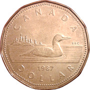1 dollar Elizabeth II (2eme effigie) -  revers