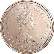 1 dollar Jacques Cartier (450ème anniversaire) -  avers